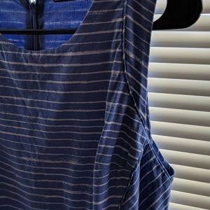 GAP Dresses - Gap Blue&White Striped FIT & Flare dress